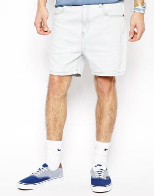 Afends Узкие джинсовые шорты Ice Wash