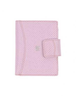 Бумажник GIUDI. Цвет: розовый