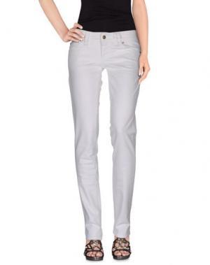 Джинсовые брюки GALLIANO. Цвет: белый