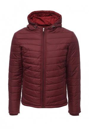 Куртка утепленная Frank NY. Цвет: бордовый