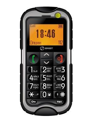 Телефон Senseit P9. Цвет: черный