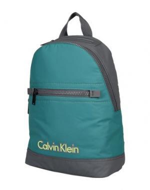 Рюкзаки и сумки на пояс CALVIN KLEIN. Цвет: цвет морской волны