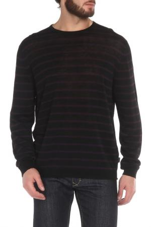 Джемпер Hugo Boss. Цвет: черный, фиолетовый