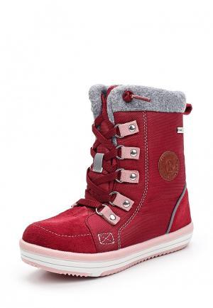 Ботинки Reima. Цвет: бордовый