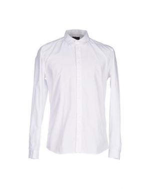 Pубашка SUIT. Цвет: белый