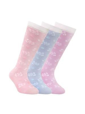 Гольфы  TIP-TOP 7С-21СП, комплект 3 пары Conte Kids. Цвет: розовый, сиреневый, фиолетовый