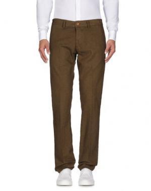 Повседневные брюки CANTARELLI. Цвет: зеленый-милитари