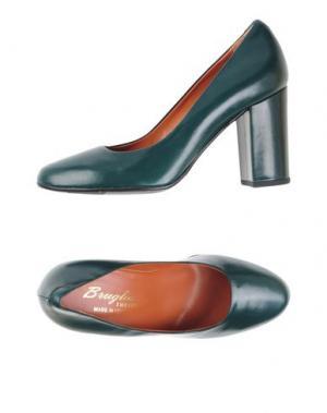 Туфли F.LLI BRUGLIA. Цвет: темно-зеленый