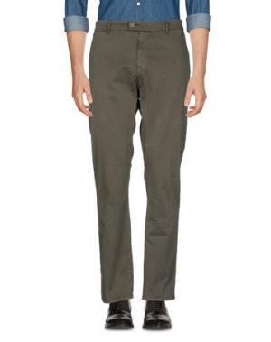 Повседневные брюки JOHN VARVATOS ★ U.S.A.. Цвет: зеленый-милитари
