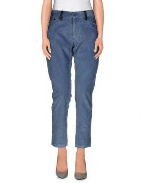 Повседневные брюки RA-RE. Цвет: лазурный