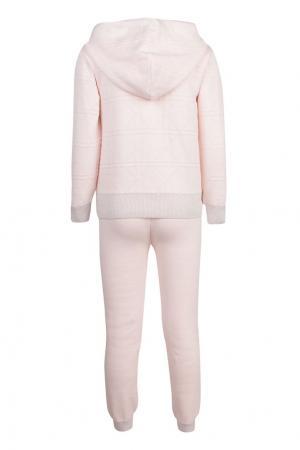 Хлопковый комплект Dior Children. Цвет: розовый