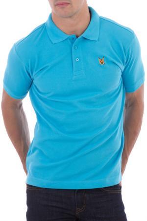 Рубашка-поло POLO CLUB С.H.A.. Цвет: голубой
