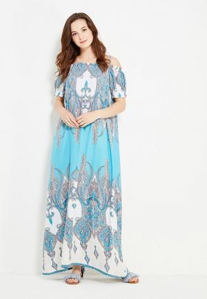 Платье Cocos. Цвет: бирюзовый