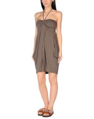 Пляжное платье ROSAPOIS. Цвет: зеленый-милитари