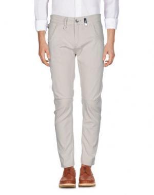 Повседневные брюки HIGH. Цвет: бежевый
