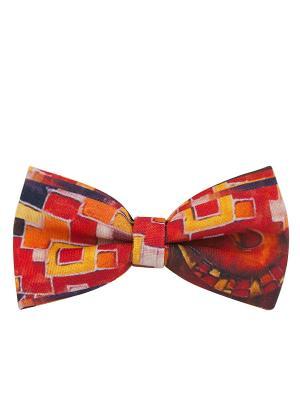 Бабочка арт.1 (красная) Kawaii Factory. Цвет: светло-оранжевый, желтый, красный