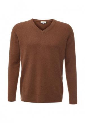 Пуловер Zaroo Cashmere. Цвет: коричневый