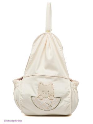 Мешок для подгузников Пастель RETAGGIO. Цвет: молочный