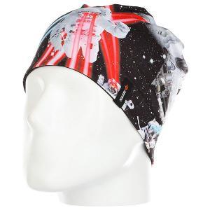 Шапка  Helmet Beanie Pet Wars Celtek. Цвет: черный,мультиколор