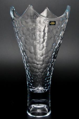 Ваза 36 см Crystalite Bohemia. Цвет: прозрачный