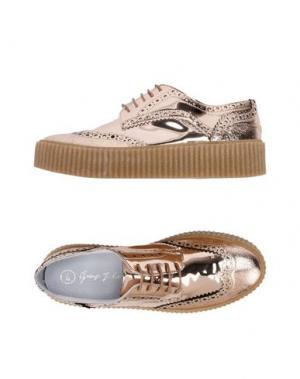 Обувь на шнурках GEORGE J. LOVE. Цвет: медный