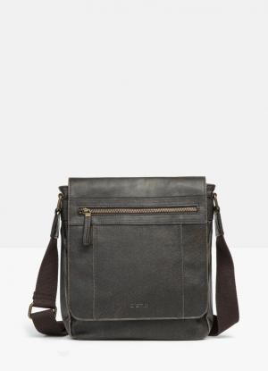 Стильная сумка OSTIN. Цвет: темно-коричневый