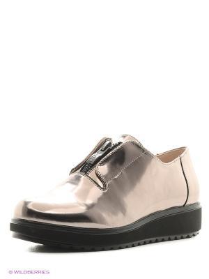 Ботинки KEDDO. Цвет: бронзовый