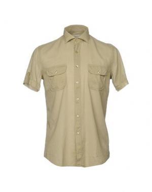 Pубашка INGRAM. Цвет: зеленый-милитари