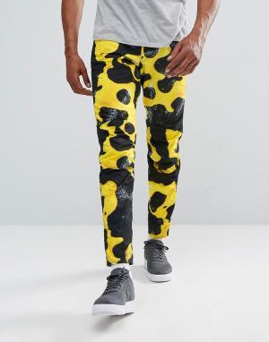 G-Star Джинсы с камуфляжным принтом Elwood 5622 x 25 Pharrell. Цвет: желтый