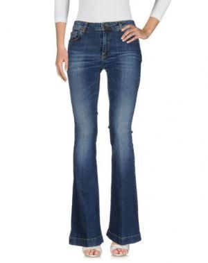 Джинсовые брюки SPACE STYLE CONCEPT. Цвет: синий