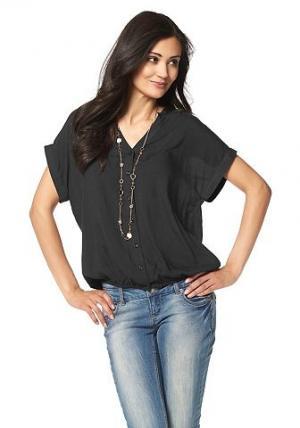 Chillytime, блузка BOYSEN'S. Цвет: чёрный
