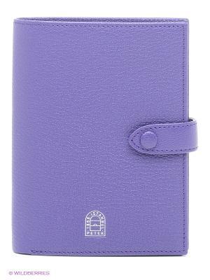 Бумажник путешественника Petek. Цвет: фиолетовый
