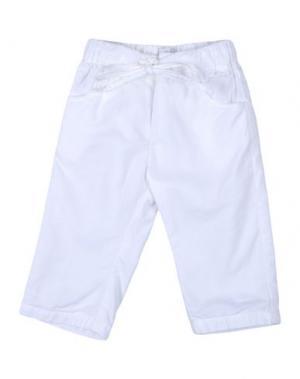 Повседневные брюки IL GUFO. Цвет: белый