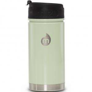 Термобутылка Для Воды MIZU. Цвет: glossy seafoam w coffee lid