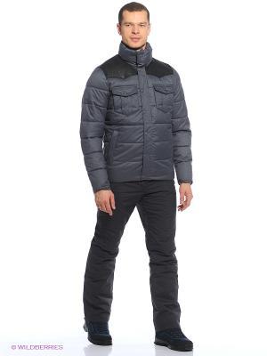 Куртка Tenson. Цвет: темно-серый, черный