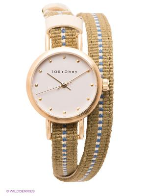 Часы TOKYObay. Цвет: зеленый
