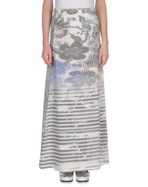 Длинная юбка KATE. Цвет: светло-серый