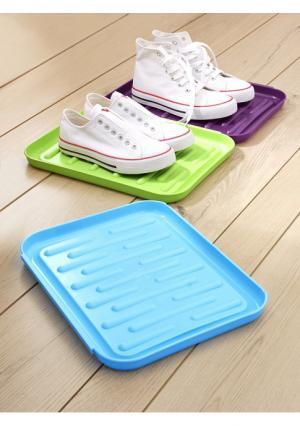 Подставка для обуви, 3 штуки Heine Home. Цвет: цветной