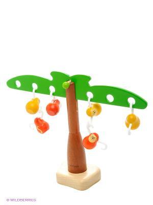 Игра Балансирующие обезьянки PLAN TOYS. Цвет: зеленый