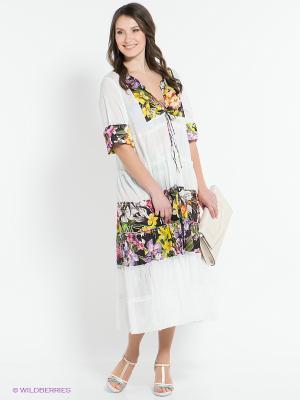 Платье Venera. Цвет: белый, черный, желтый