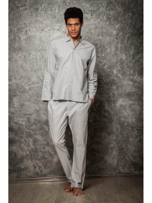 Пижама Sis. Цвет: серый