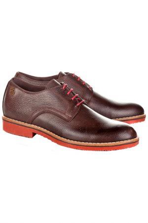 Туфли CASTELLANISSIMOS. Цвет: коричневый