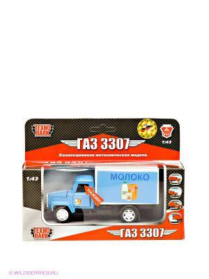 Машина Газ 3307 Технопарк. Цвет: голубой