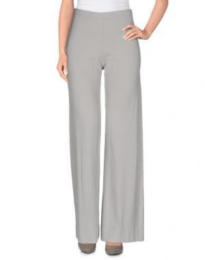 Повседневные брюки NEERA. Цвет: светло-серый