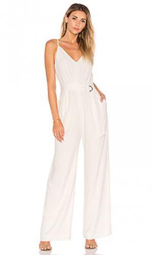 Пляжный костюм с широкими брюками JILL STUART. Цвет: белый