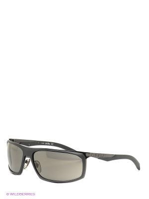 Солнцезащитные очки RH 721 02 Zerorh. Цвет: черный