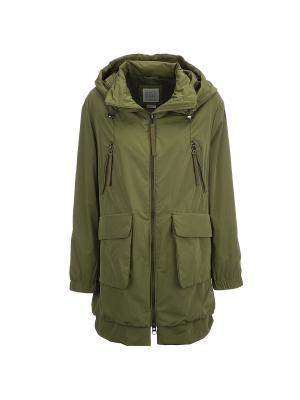 Куртка GEOX. Цвет: оливковый