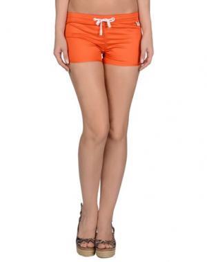 Пляжные брюки и шорты PANTONE UNIVERSE by SONIA SPENCER. Цвет: оранжевый