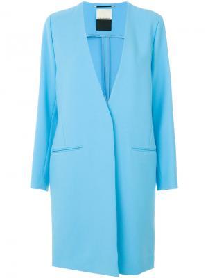 Anca coat By Malene Birger. Цвет: синий