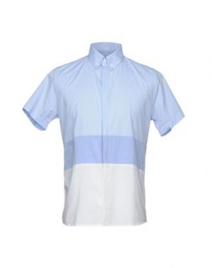 Pубашка QUINTESSENCE. Цвет: небесно-голубой